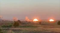 Video F-15 và F-35 Mỹ dội 36 tấn bom chôn vùi mục tiêu khủng bố tại Iraq