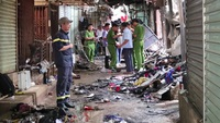 Cháy chợ Bình Long, 29 ki ốt bị thiêu rụi