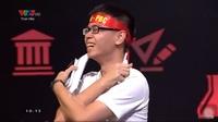 Nhà vô địch Trần Thế Trung hô khẩu hiệu của siêu nhân Báo Đen khi giành chiến thắng