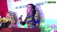 Bộ trưởng Nguyễn Thị Kim Tiến nhắn nhủ sinh viên ĐH Y dược TPHCM trong lễ khai trường