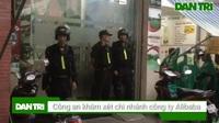 Công an khám xét chi nhánh của công ty Alibaba trên đường Điện Biên Phủ, quận Bình Thạnh