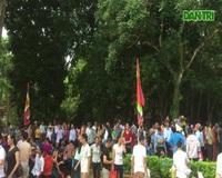 Hàng vạn người hướng về vùng đất thiêng Lam Kinh