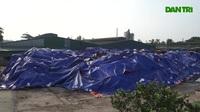 Cận cảnh kho chứa hơn 2.500 tấn phế thải của vụ cháy Công ty Rạng Đông