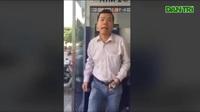 Người đàn ông hành hung phụ nữ khi bị nhắc nhở không xếp hàng chờ rút tiền