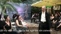 """Bố mẹ siêu mẫu Hạ Vy bất ngờ lên sàn catwalk cùng dàn """"mẫu béo"""""""