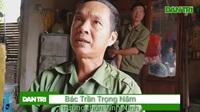 Ông Trần Trọng Năm, trưởng thôn Vĩnh Ninh ái ngại cho biết