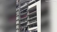 Cảnh tượng đổ nát tại công trình khách sạn bị đổ sập ở Mỹ