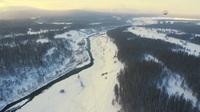 Dòng sông không bao giờ đóng băng dù nhiệt độ ngoài trời hạ xuống -40 độ C