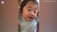 Cảm động khoảnh khắc cô bé mồ côi bày tỏ tình cảm với cha mẹ nuôi