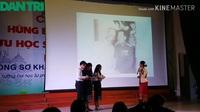 Phần thi hùng biện tiếng Việt của lưu học sinh Lào trường ĐH Quảng Bình và ĐH Luật, ĐH Huế