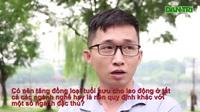 Ý kiến người dân về đề xuất tăng tuổi hưu (Video: Trọng Trinh)