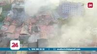 Toàn cảnh vụ cháy nhà máy Bóng đèn phích nước Rạng Đông hồi cuối tháng 8