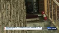 Hai cháu trai bỏ mặc bà trong đám cháy, chỉ cứu thiết bị phòng thí nghiệm
