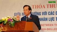Bộ trưởng Bộ LĐ-TB&XH Đào Ngọc Dung tới làm việc tại Trường Cao đẳng Cơ khí nông nghiệp (Vĩnh Phúc)