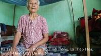 Bà Trần Thị Tám tâm sự về hoàn cảnh gia đình