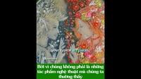 """Độc đáo những bức tranh đang """"sống"""" được vẽ bằng… vi khuẩn"""