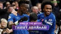 Thống kê trận đấu Chelsea thắng Crystal Palace