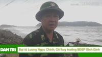 Bộ đội Biên phòng Bình Định không chợp mắt cùng dân lo chạy bão