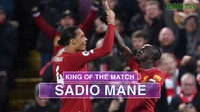 Thống kê trận đấu Liverpool thắng Man City