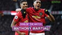 Thống kê trận đấu Man Utd thắng trước Brighton