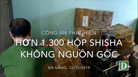 Công an phát hiện shisha không nguồn gốc tại Đà Nẵng