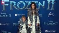 """Selena Gomez cùng em gái tham gia lễ công chiếu phim """"Frozen 2"""""""
