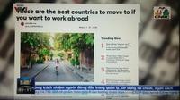 Việt Nam đứng đầu danh sách các điểm đến làm việc