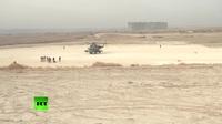Video Nga tiếp quản căn cứ không quân Mỹ bỏ lại tại Syria