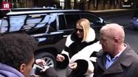 Celine Dion gặp fan tại thành phố New York