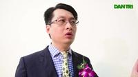 Tiến sĩ Nguyễn Đình Quý chia sẻ cảm xúc sau Lễ trao giải Nhân tài Đất Việt.