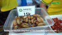 Đuông dừa xuất hiện ở liên hoan món ngon các nước bất chấp lệnh cấm