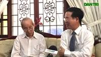 Nguyên bộ trưởng Bộ GD-ĐT chia sẻ với Trưởng ban Tuyên giáo Trung ương về vấn đề giáo dục