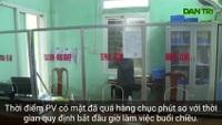 Trụ sở xã Hương Trà vắng tanh trong giờ hành chính
