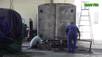 Cận cảnh xe công trình sửa chữa cơ khí tổng hợp của QĐND Việt Nam