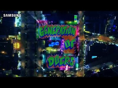Samsung giới thiệu: Thế hệ làm điều không thể
