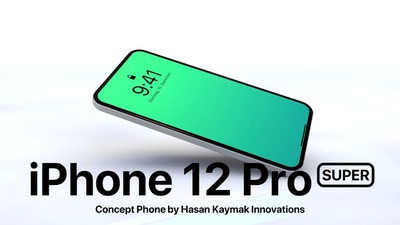 Concept Apple iPhone 12 Pro SUPER