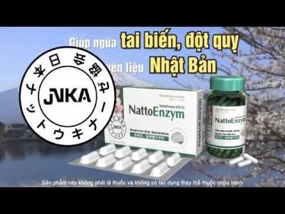 NattoEnzym - Hỗ trợ phòng ngừa đột quỵ do cục máu đông