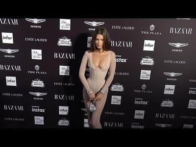 Bella Hadid nổi bật trong sự kiện