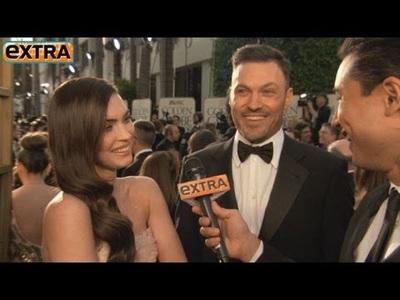 Megan Fox dự sự kiện cùng chồng