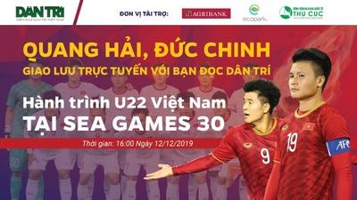 Trò chuyện với Quang Hải, Đức Chinh U22 Việt Nam - Sea Games 30 chuyện chưa kể