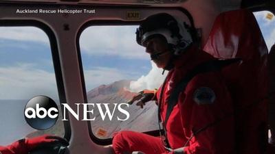 New Zealand chạy đua giải cứu nạn nhân sau thảm họa núi lửa