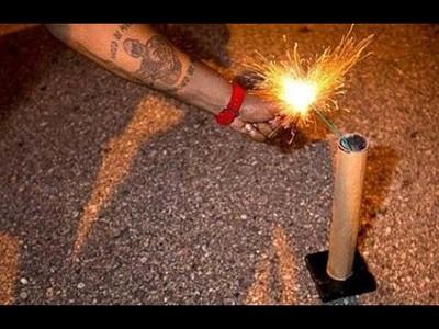 Tự ý đốt pháo hoa ngày Tết là vi phạm pháp luật