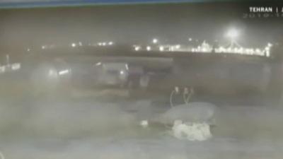 Xuất hiện video 2 tên lửa Iran bắn trúng máy bay Ukraine