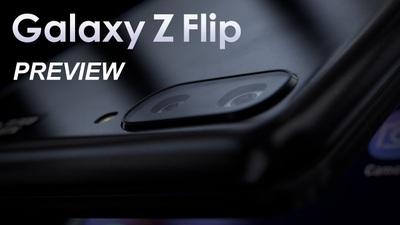 Concept mô phỏng Samsung Galaxy Z Flip sắp ra mắt