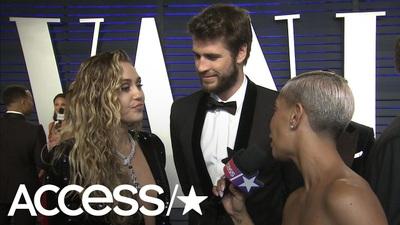 Miley Cyrus đẹp đôi bên Liam Hemsworth