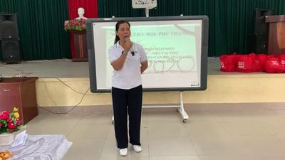 bà Lý Thị Toàn Thắng, trưởng Đại diện VPPN Báo Điện tử Dân trí