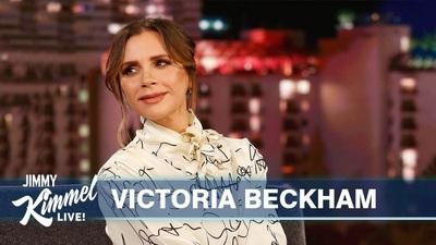 Victoria Beckham thanh lịch trên truyền hình