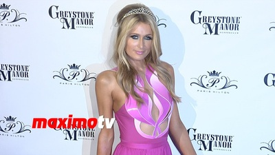 Paris Hilton điệu đà trên thảm đỏ