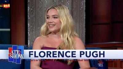 Florence Pugh duyên dáng trên truyền hình