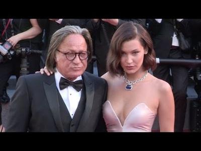 Bella Hadid xinh đẹp bên cha Mohamed Hadid